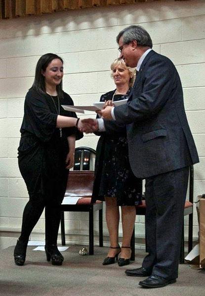 Kirsty-Galea-ScholarshipAward2013