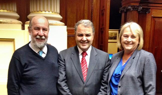 Speaker-Melbourne-visit-Parliament-11Sep2013