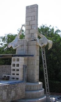 Construction of ANZAC Memorial
